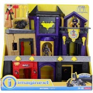 IMAGINEXT Batgirl City Playset & Harley Quinn DC